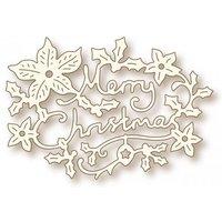 Christmas Greeting Thin Metal Die