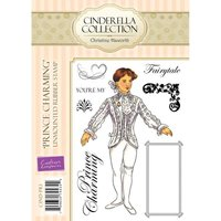 Cinderella A6 Rubber Stamp Set - Prince Charming