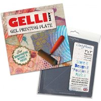 "6""x6"" Gelli Plate and Mega Mount 7""x7"""