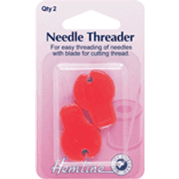Needle Threader With Cutter