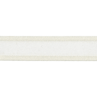 Image of Sheer Elegance: 1m x 25mm: Pearl