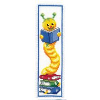 Counted Cross Stich Kit: Bookmarks: Bookworm
