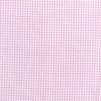 144cm wide Yarn Dyed Cotton Light Pink Gingham Fabric