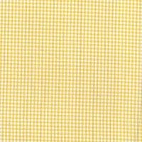 144cm Yarn Dyed Cotton Yellow Gingham Fabric