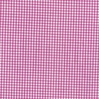 144cm Yarn Dyed Cotton Dark Fuchsia Gingham Fabric