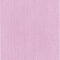 144cm Yarn Dyed Cotton Fuchsia Stripe Fabric