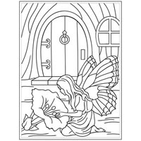 """4.25"""" x 5.75"""" Embossing Folder - Fairy Door"""