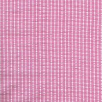 110cm wide Cotton Pink Seersucker Fabric