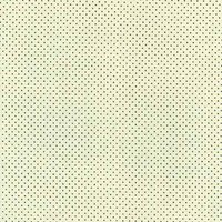 110cm wide Cotton Print Ivory with Navy Spot Fabric