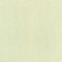 110cm wide Cotton Print Ivory with Blue Spot Fabric