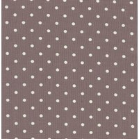 110cm wide Linen Look Cotton White Spot on Light Purple Fabric