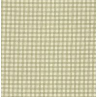 110cm wide Linen Look Cotton Olive Check Fabric