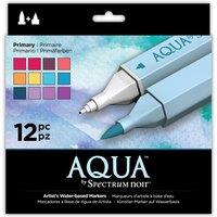Aqua by Spectrum Noir 12 Pen Set - Primary
