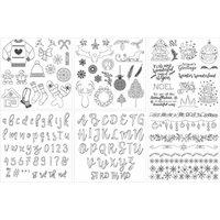 Sara Signature Festive Wonder Collection - Downloadable A4 Paper Pad