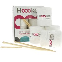 Hoooked Zpagetti Knit and Crochet Pouf Kit - Off White