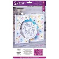 Die'sire Create-a-Card Kinetic Metal Die - Circle Swing (Original)
