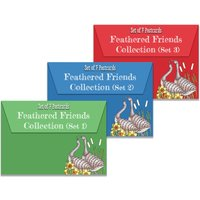 Claritystamp Colouring Postcards - Feathered Friends Collection Sets 1, 2 & 3