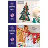 Threaders Advent Calendar and Festive Bunting Fabrikits