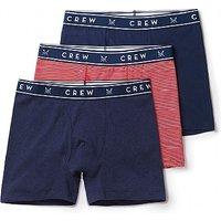 3 Pack Plain/Stripe Boxers