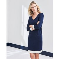 Daymer Milano Tipped Dress