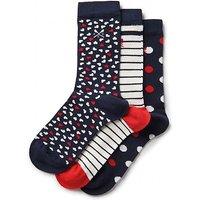 3 Pack Heart Bamboo Socks