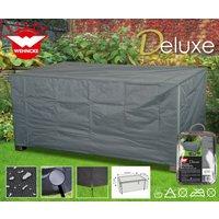 Deluxe Schutzhülle für Gartentische, ca. 170 x 100 x 71 cm, aus Polyester, Gartenmöbel-Schutz