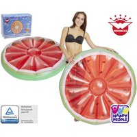 Frucht-Floater Wassermelone, Maße aufgeblasen ca. 118 x 23 cm, Wasser-Luftmatratze