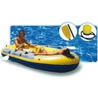 Happy People Sportboot 260er, ca. 262 x 145 cm, belastbar bis ca. 210 kg