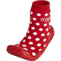 Playshoes Aqua-Socke Punkte rot, Größe: 28/29
