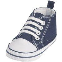Playshoes Canvas-Turnschuh marine, Größe: 17