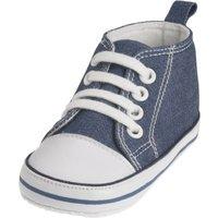 Playshoes Canvas-Turnschuh jeansblau, Größe: 17