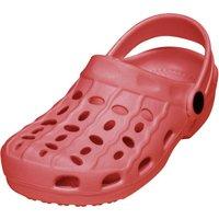 Playshoes EVA-Clog Basic rot, Größe: 26/27