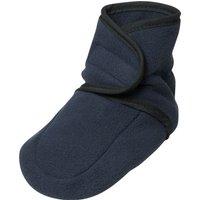 Playshoes Fleece Baby-Schuh, Größe: 18/19, marine