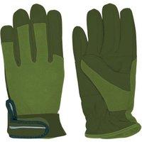 Rivanto® Garten Handschuhe Größe M, Pflanz- und Bodenhandschuhe für Garten und Beet, Arbeitshandschuhe mit Klettverschluss, atmungsaktiv