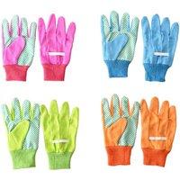 Rivanto® Kinderhandschuhe aus Baumwolle/Polyester, 11 x 0,9 x 19,7 cm, pink/blau/grün/orange sortiert, Farbwahl nicht möglich