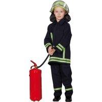 RUBIE'S Faschingskostüm - Feuerwehrmann 2-teilig, Größe: 140