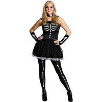 RUBIE'S Faschingskostüm - Teenie Skelett, Größe: 32