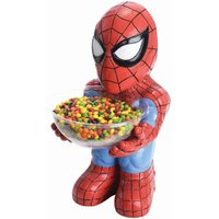 RUBIE'S Spiderman Candy Bowl Holder, Süßigkeitenspender, Halloween Deko Figur