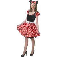 RUBIE'S Sassy Minnie Mouse Adult, Größe S