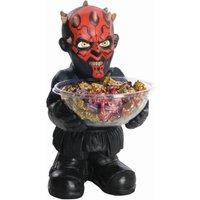 RUBIE'S Darth Maul Candy Bowl Holder, Süßigkeitenspender, Halloween Deko Figur