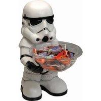 RUBIE'S Stormtrooper Candy Bowl Holder, Süßigkeitenspender, Halloween Deko Figur