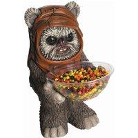RUBIE'S Ewok Candy Bowl Holder, Süßigkeitenspender, Halloween Deko Figur