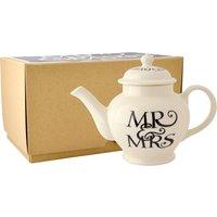 Emma Bridgewater Black Toast Mr & Mrs 2 Cup Teapot (Boxed) |