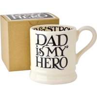 Emma Bridgewater Black Toast Dad is My Hero 1/2 Pint Mug (Boxed) | 1FDA070002