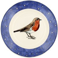 Emma Bridgewater Robin in a Starry Night 8 1/2 Plate | 1RSN010063 - Robin Gifts