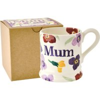 Emma Bridgewater Wallflower Mum 1/2 Pint Mug (Boxed) | 1WAL0