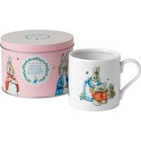 Wedgwood Peter Rabbit Girl's Mug in Tin   40001416 - Peter Rabbit Gifts