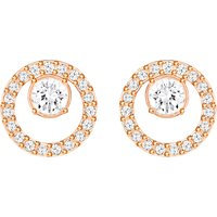 Swarovski Creativity Circle Small Rose Gold Earrings | 5199827 - Creativity Gifts