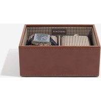 stackers tan watch stacker box | 73198