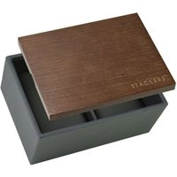 stackers mini charcoal watch box (lid included) | 73644